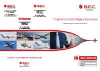 Plaquette Groupe B.E.C.